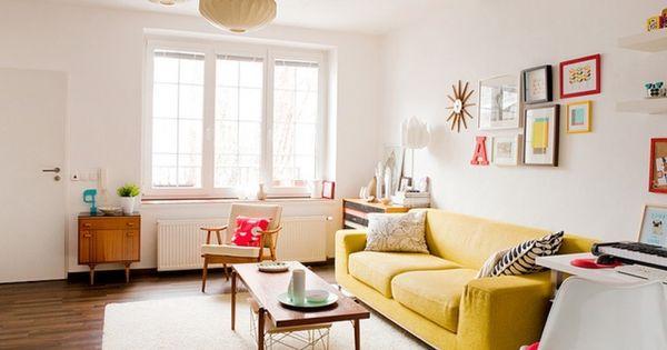Deko ideen fur kleines wohnzimmer wohnzimmer einrichten - Sofas fur kleine wohnzimmer ...