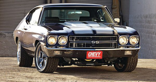 "Not into ""modern"" muscle cars but look at this '70 Chevrolet Chevelle"