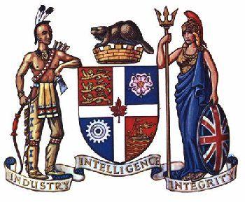 Toronto S Old Coatofarms Heraldry Blason Symbole