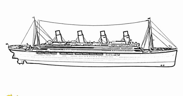 Cruise Ship Coloring Page Luxury Swanky Coloring Page Cruise Ships Free In 2020 Titanic Coloring Pages Coloring Pages For Kids