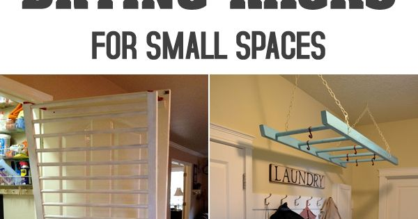 10 diy laundry drying racks for small spaces vaskerum indretning og t j - Laundry drying racks for small spaces property ...