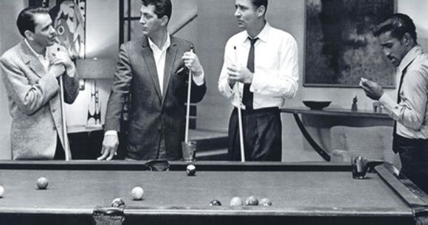 Rat Pack Shooting Pool Art Pinterest Pools And Rats