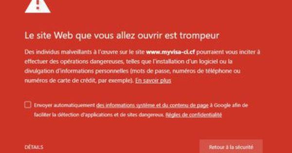 Securite Cote D Ivoire Piratage A Grande Echelle De Carte