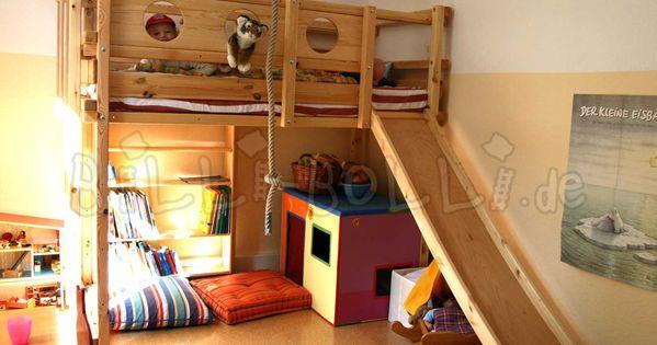 Loft Bed Adjustable By Age Billi Bolli Kids Furniture