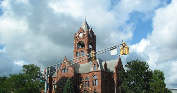 Laporte county indiana court house pic happy pinterest for Laporte courthouse