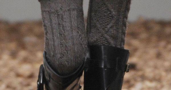 Thigh High Socks, Knee High Boots by DepecheMe, Bitte on Indulgy.com. All