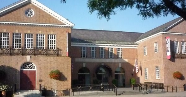 Foyer Museum Usa : National baseball hall of fame and museum cooperstown n
