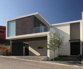 Casa Moderna En Mortero Monocapa Y Montada De 200 M2 Con 150 M Habitables 20m2 De Ter Planos De Casas Modernas Casas Modernas Casas Minimalistas Pequenas
