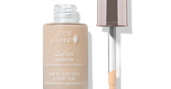 Fruit Pigmented 2nd Skin Foundation Skin Foundation Foundation For Dry Skin Pure Products