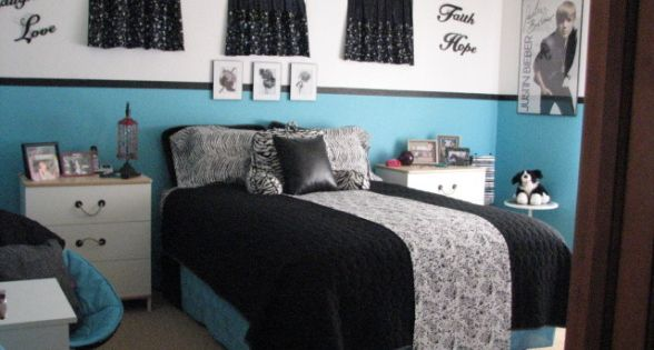 black and white bedrooms with a splash of color room bedroom for black and 21311