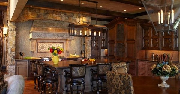 Old World Kitchens Pinterest Kitchens House And