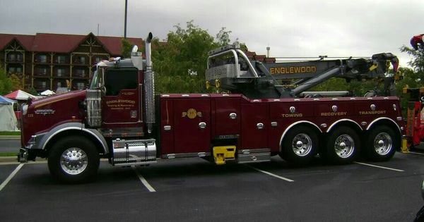 KW with Miller rotator.   Tow Trucks & Recovery ...