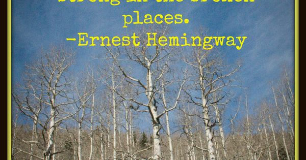 how hemingways life affected his writing People invited to a presentation do not need a prezi hemingway's life and how it affected his writing important events in ernest hemingway's life and how.