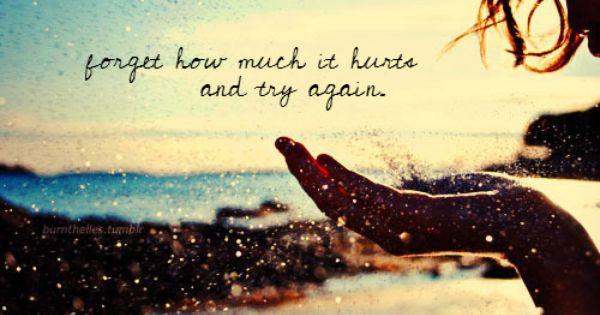 Lifes Lesson...