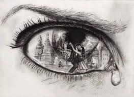 Pin De Sin Cara En Desamor Arte Para Ojos Dibujos Tristes Como Dibujar Cosas