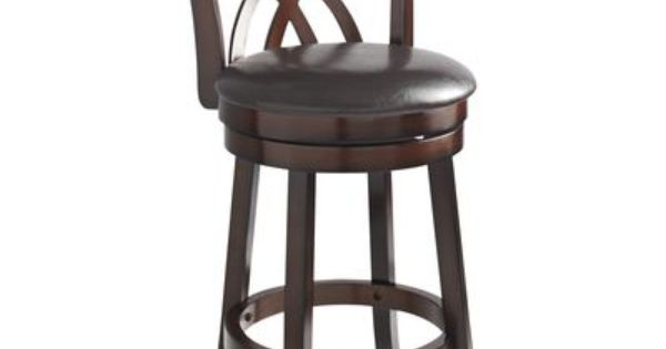 Holbrook Brown Swivel Counter Stool Bar Stools Designer Bar