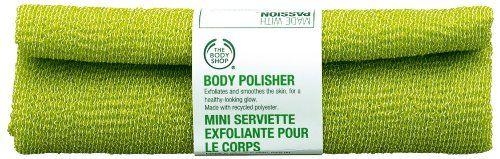 The Body Shop Exfoliating Body Polisher Skin Towel Green The Body Shop Http Www Amazon Com Dp B002fgkpwk Ref Cm S The Body Shop Best Body Scrub Body Polish