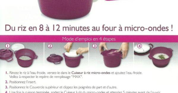 cuiseur riz my tupp recettes pinterest tupperware. Black Bedroom Furniture Sets. Home Design Ideas