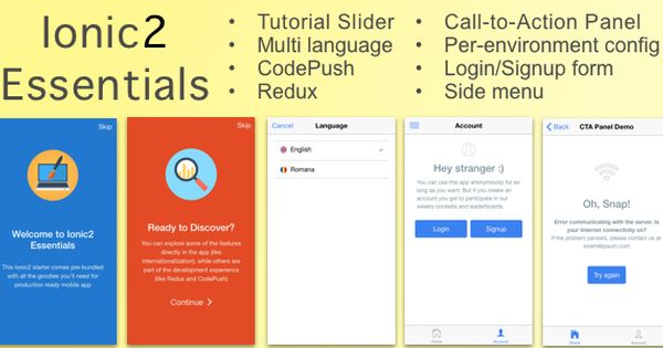 Ionic2essentials Starter App With Multi Language Support Charts Codepush Redux And More Language Supportive Chart
