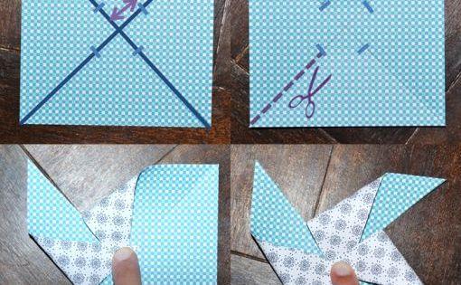 moulin en papier blog pluie de confettis bricolage pinterest moulinets moulins vent. Black Bedroom Furniture Sets. Home Design Ideas