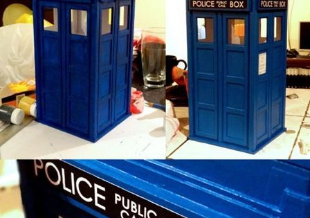 Doctor Who - Paper Craft TARDIS on Behance
