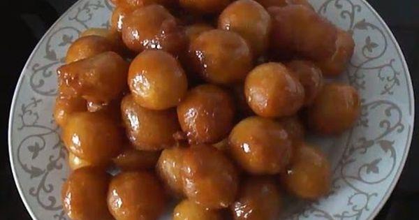 العوامات العراقية لقمة القاضي أكلات عراقية Iraqi Food Youtube Food Food Pin Fruit