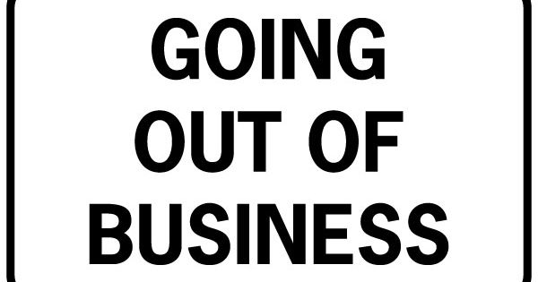 Printable Going Out Of Business Signs Free Download Free