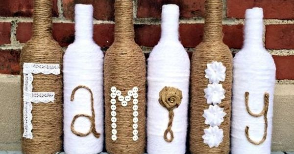 40 cool wine bottles craft ideas corks ideas and wine for Cool wine bottle ideas
