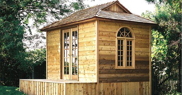Weekend cabin backyard house portland oregon google for Cabin kits northern california