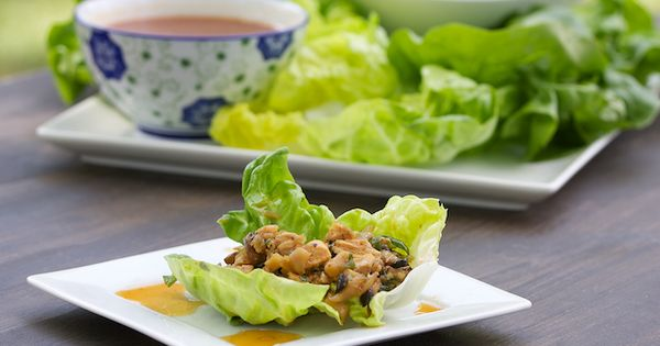 Asian Chicken Lettuce yummy food food| http://famous-castles-turner.blogspot.com