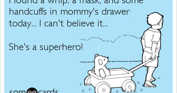 superhero mom! haha funnies comedy profollica humor memes