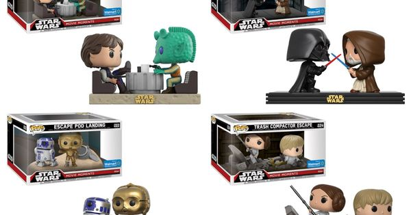 Walmart Launches Four Exclusive Funko Star Wars Movie Moments Coffee With Kenobi Funko Pop Star Wars Star Wars Movie Funko