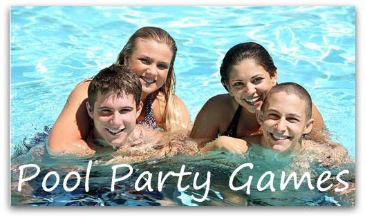 Top teen pool party games for the swimming pool like the for Swimming pool poker