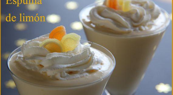 La espuma de limon es un postre refrescante y agradable - Espuma de limon ...