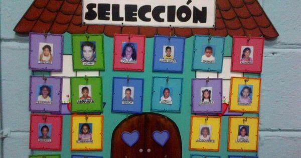 Cartel de seleccion de preescolar | MIS TRABAJOS EN MDF, MADERA, FIBRO