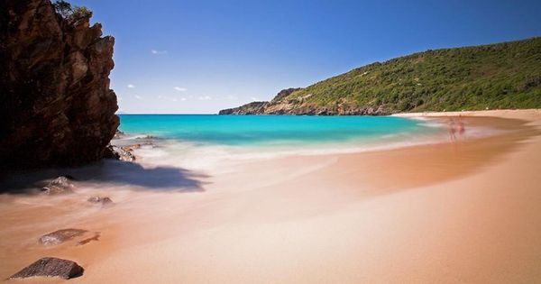 Best Island Beaches For Partying Mykonos St Barts: Gouverneur's Beach, St Barts.