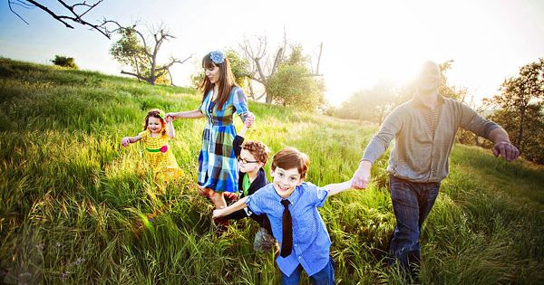 40+ simple family portrait ideas