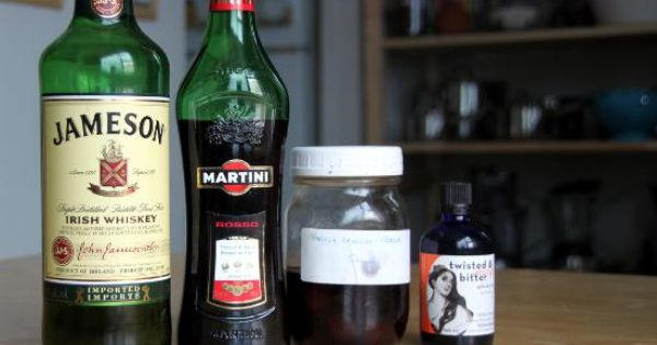 The emerald cocktail irish whiskey carpano antica for Cherry bitters cocktail recipe