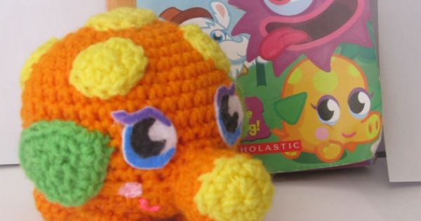 Amigurumi Moshi Monsters : Say hello to Mr. Snoodle. He is Moshi Monster #56 - the ...