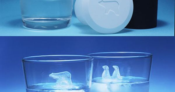 Polar bear ice cubes | Gadgets, Gifts and Lifestyle for the rest