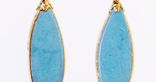 vintage blue earrings Jewelry by http://elephantheart.com