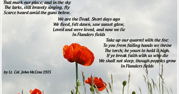 remembrance day uk poems