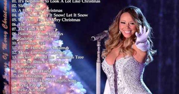 Top 30 Songs Of Christmas 2016 Best Songs Of Merry Christmas Youtube Christmas Music Videos Best Christmas Songs Christmas Music