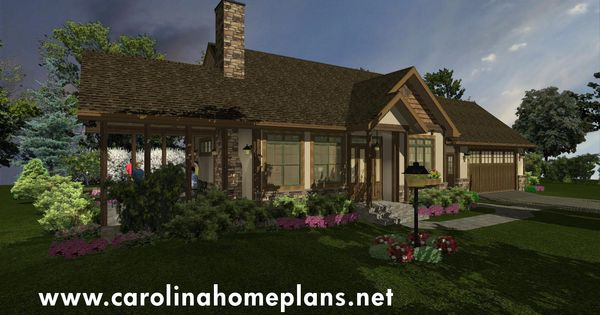 Stone Craftsman Cottage A Small Downsizing House Plan