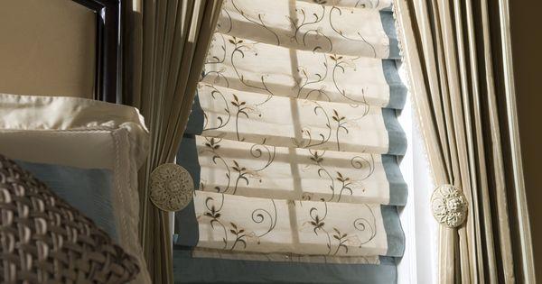 Window Treatment Ideas European Style Elegant Rustic
