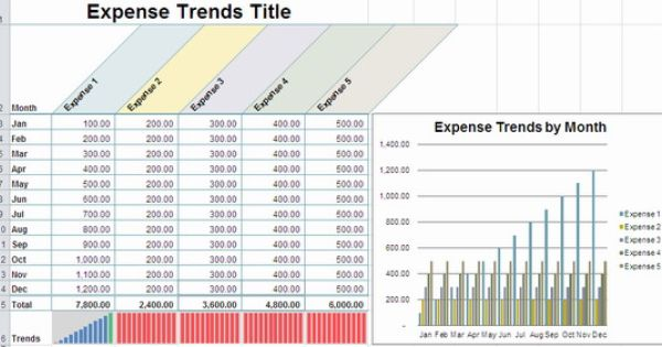 Daily Cash Income And Expenditure Template Excel Report Template