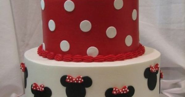 A Minnie Mouse birthday cake is perfect for celebrating everything from a