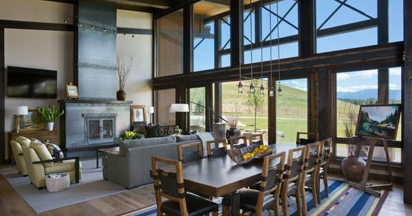 Photos Timber And Log Home Kitchens And Dining Rooms Lake House