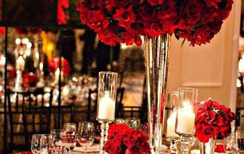 20 Truly Amazing Tall Wedding Centerpiece Ideas - Deer Pearl Flowers