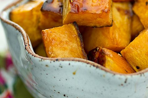 Apple Cider Glazed Sweet Potatoes. Oh my! vegan